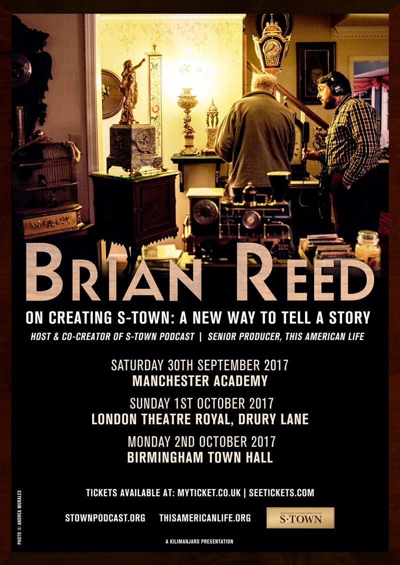 Brian Reed on Creating S-Town UK Tour 2017