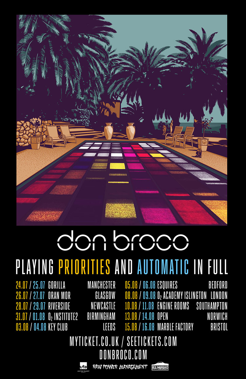 Don Broco UK Tour 2016