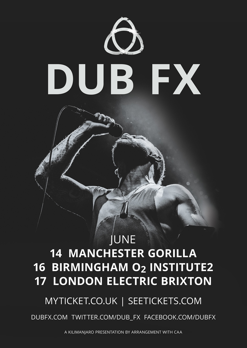 Dub FX UK Tour 2017