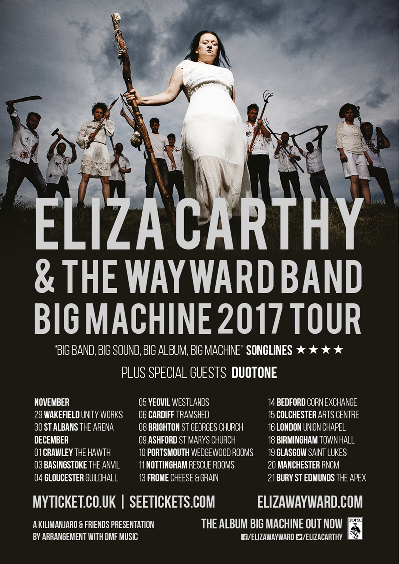 Eliza Carthy & The Wayward Band UK Tour 2017