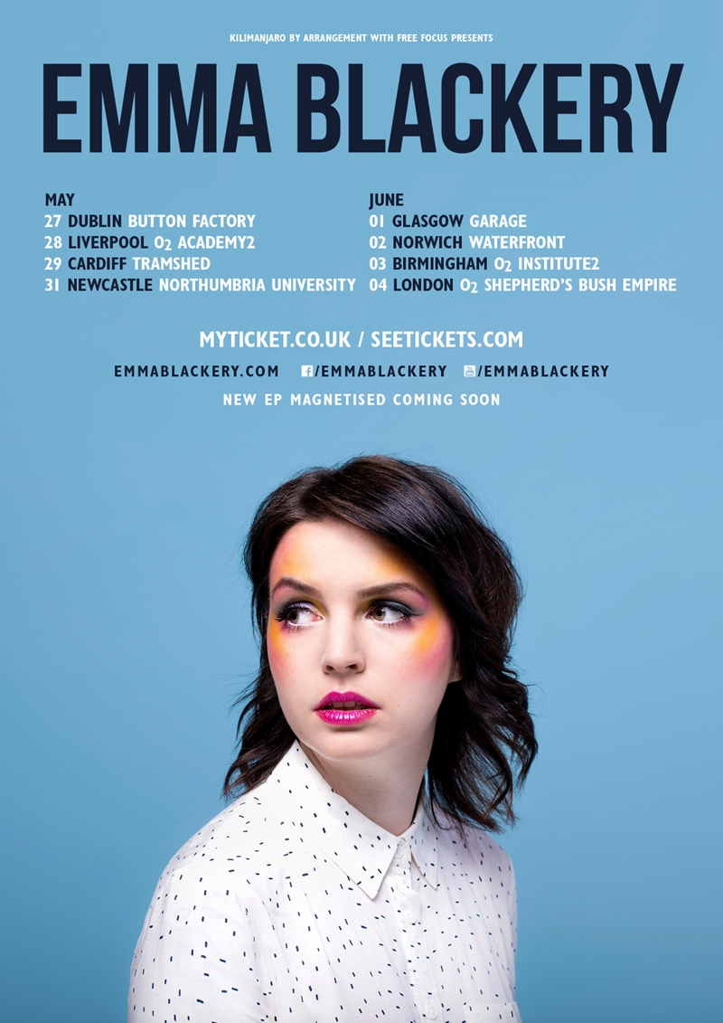 Emma Blackery UK Tour 2017