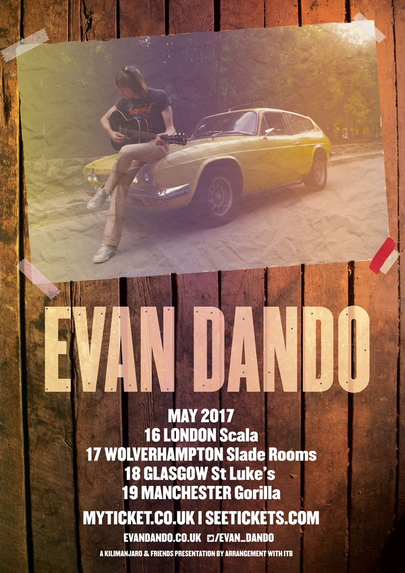 Evan Dando UK Tour 2017