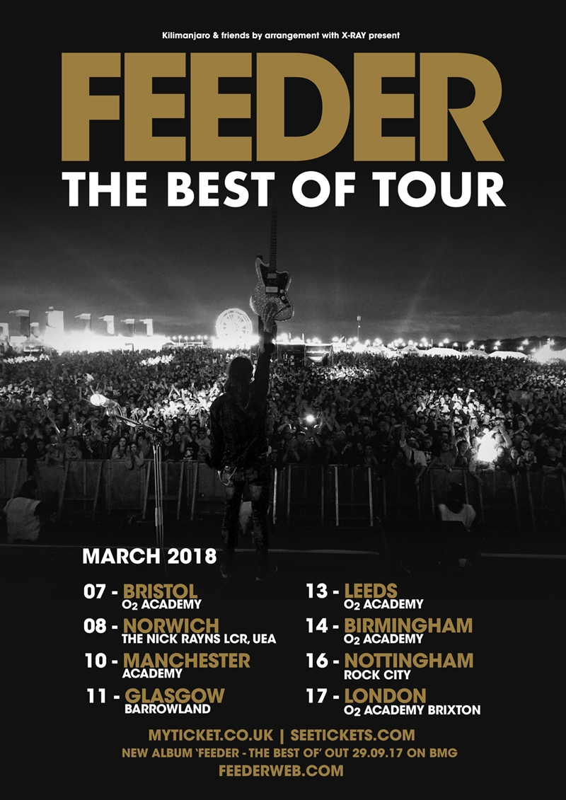 Feeder UK Tour 2018