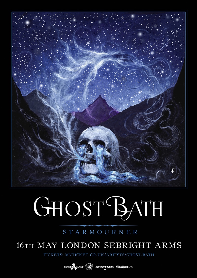 Ghost Bath UK London 2017 show