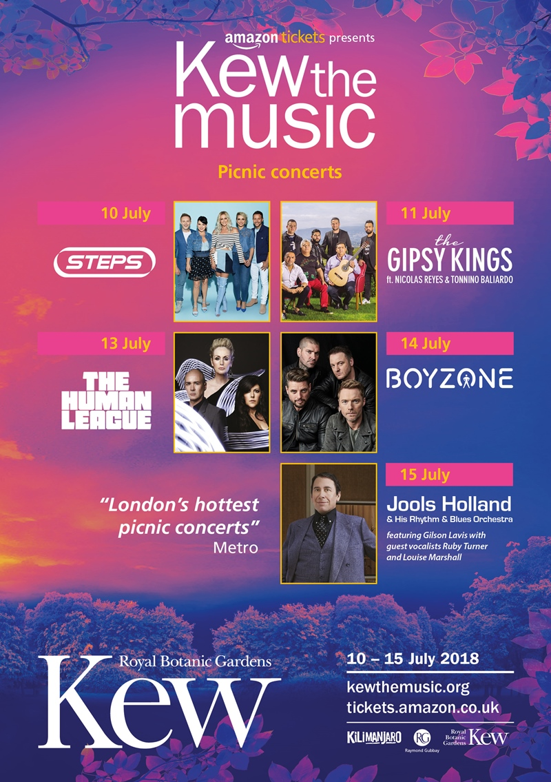 The Gipsy Kings at Kew the Music 2018 UK London concert series