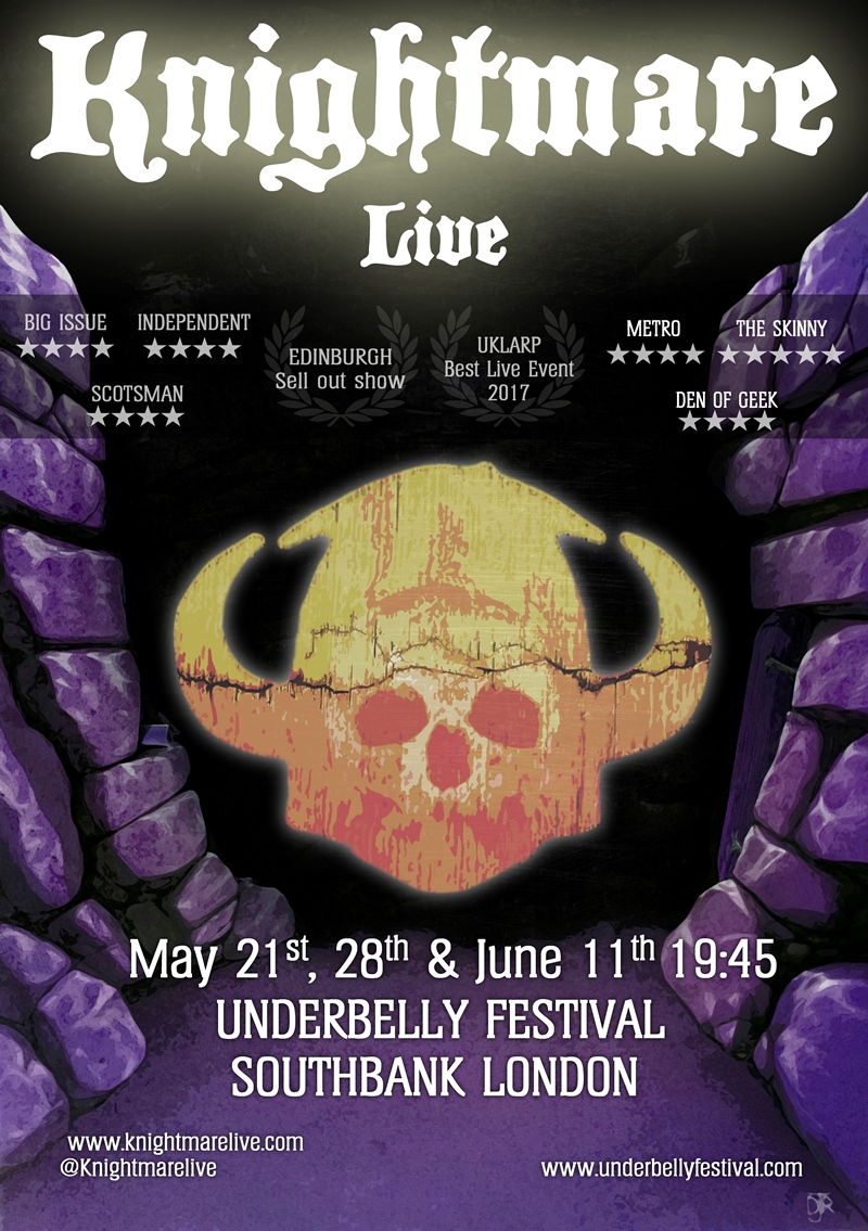 Knightmare Live UK London show 2017