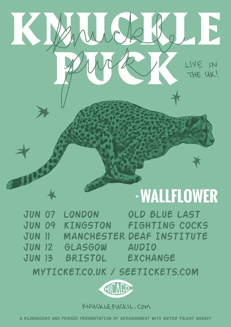Knuckle Puck UK Tour 2017