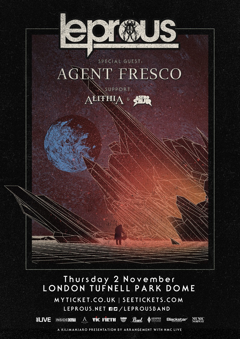Leprous UK London 2017 show
