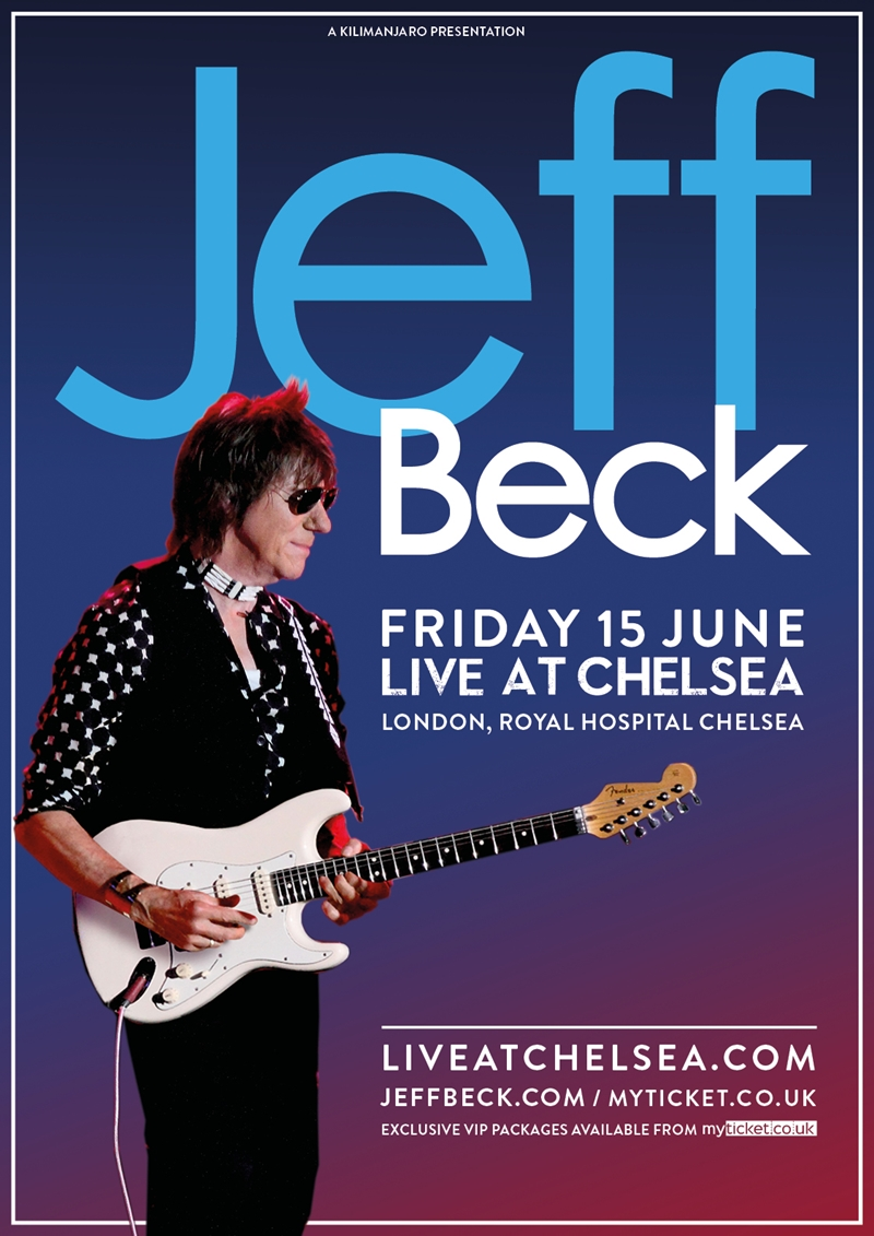 Jeff Beck plays Live At Chelsea concert series 2018 UK London