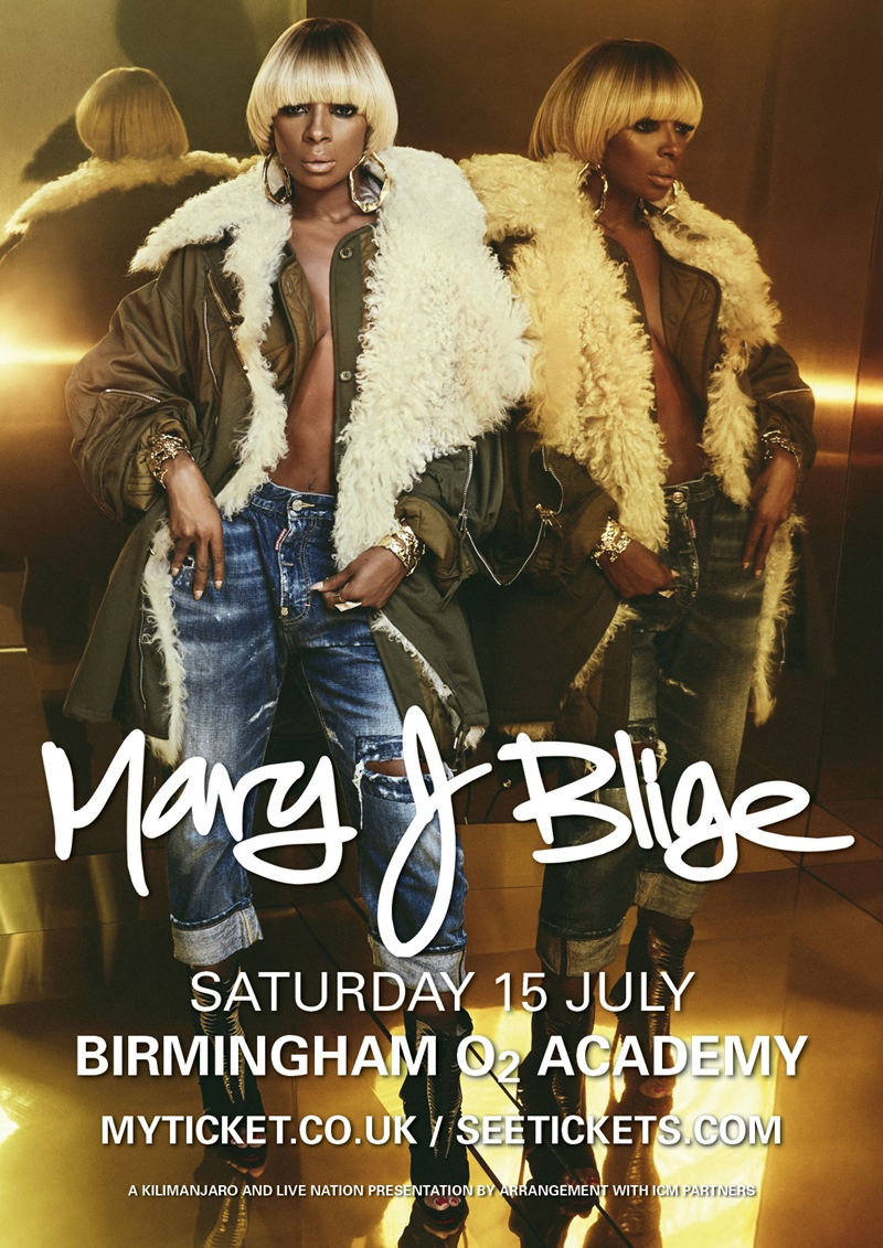 Mary J Blige UK Birmingham 2017 show