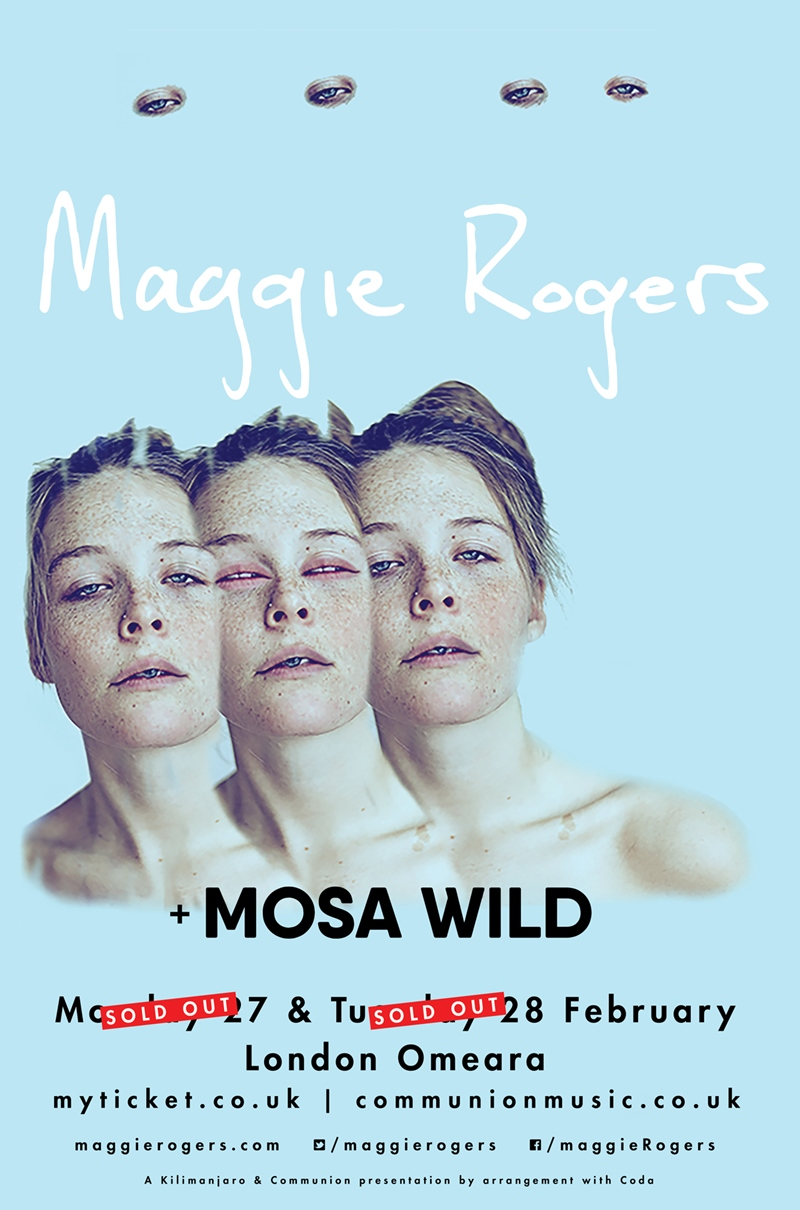 Maggie Rogers UK London 2017 shows