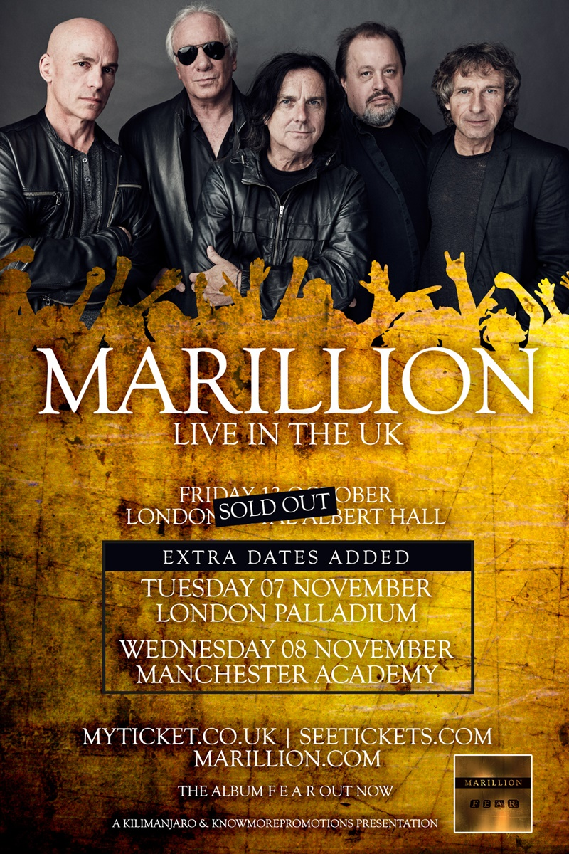 Marillion UK Tour 2017