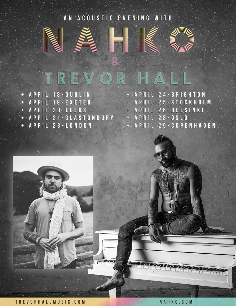 An Acoustic Afternoon with Nahko and Trevor Hall
