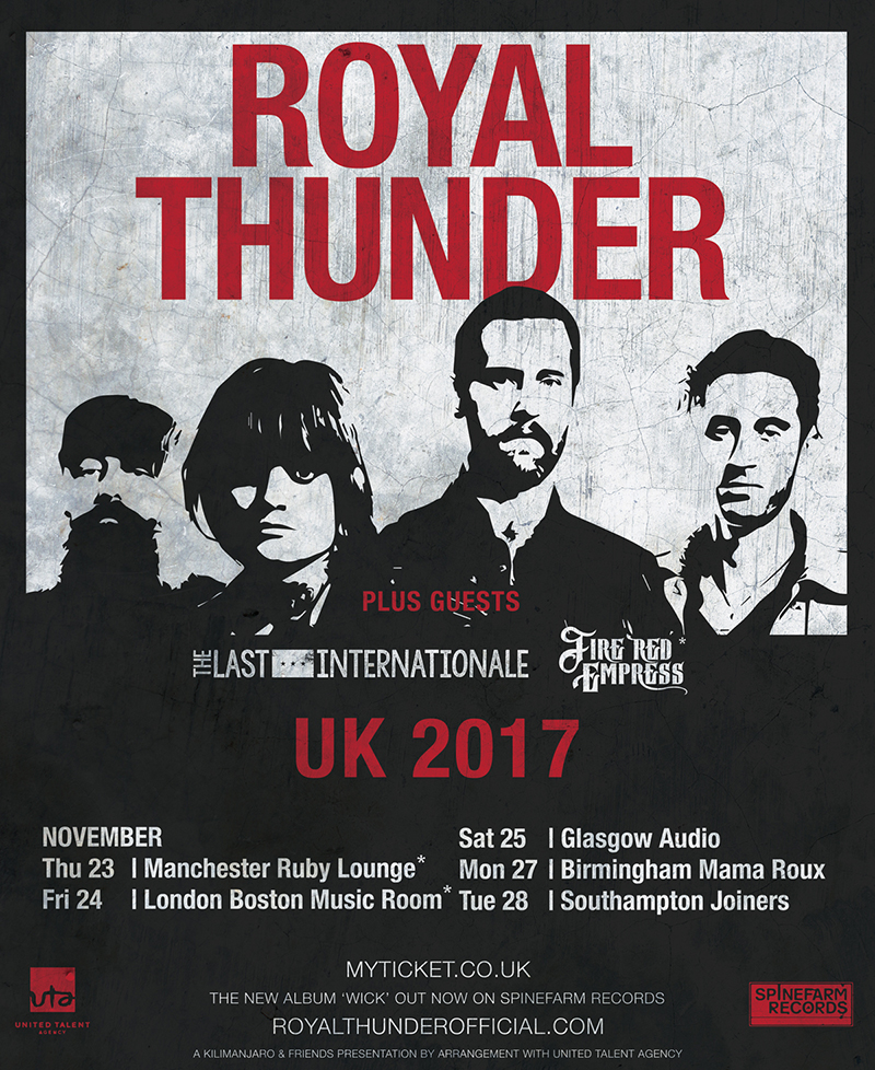 Royal Thunder 2017