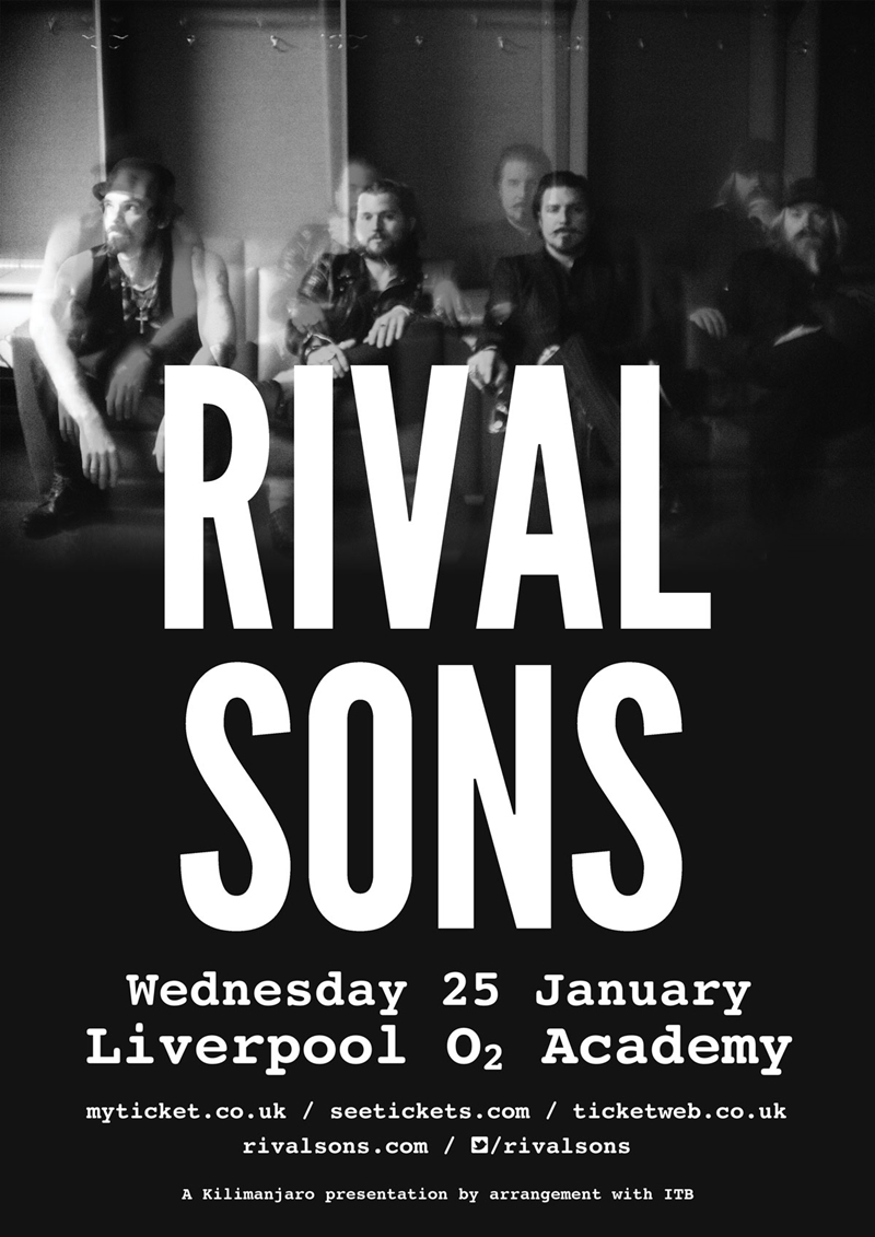 Rivals Sons UK Liverpool 2017 show
