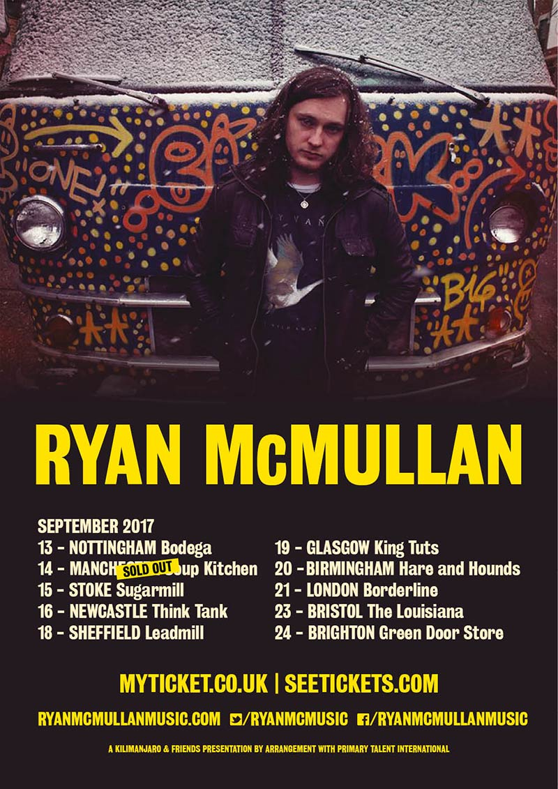 Ryan McMullen UK Tour