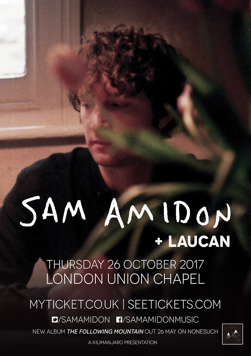 Sam Amidon 2017 London