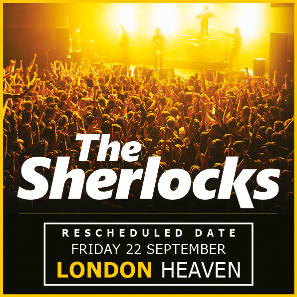 The Sherlocks UK London 2017 show