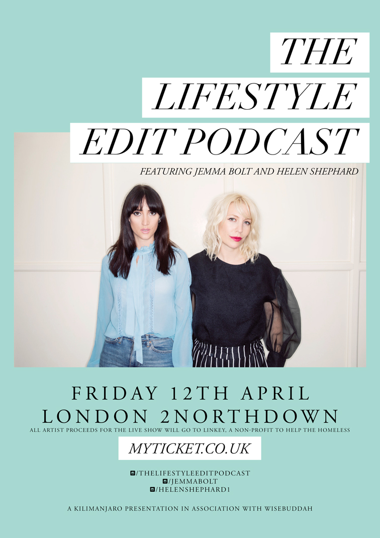 The Lifestyle Edit Podcast Live