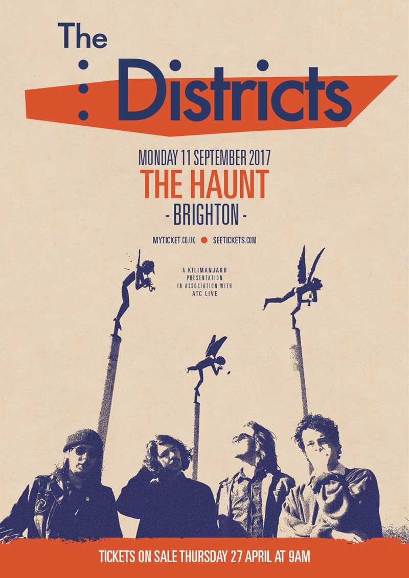 The Districts UK Brighton 2017 show