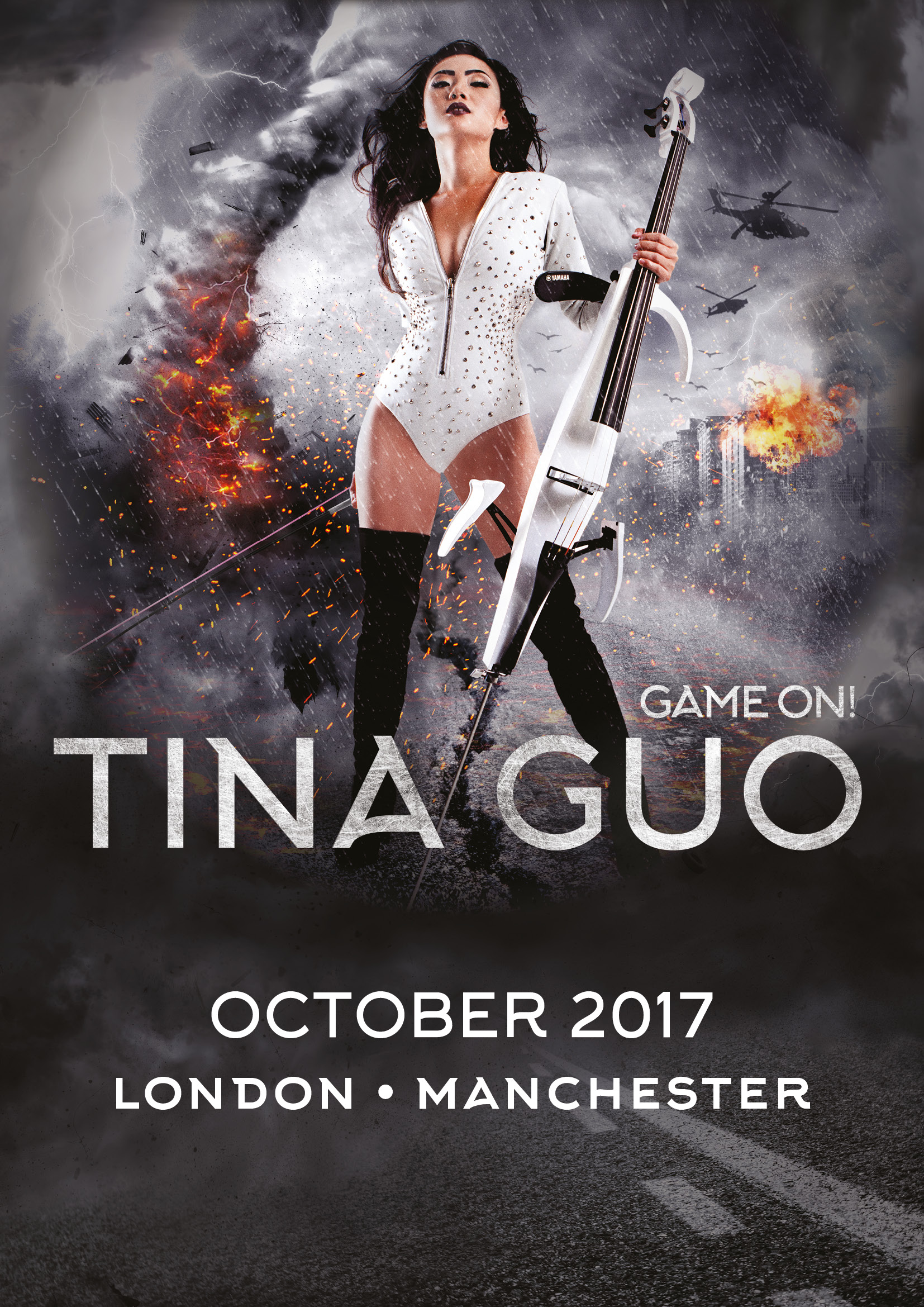 Tina Guo Game On! UK Tour 2017