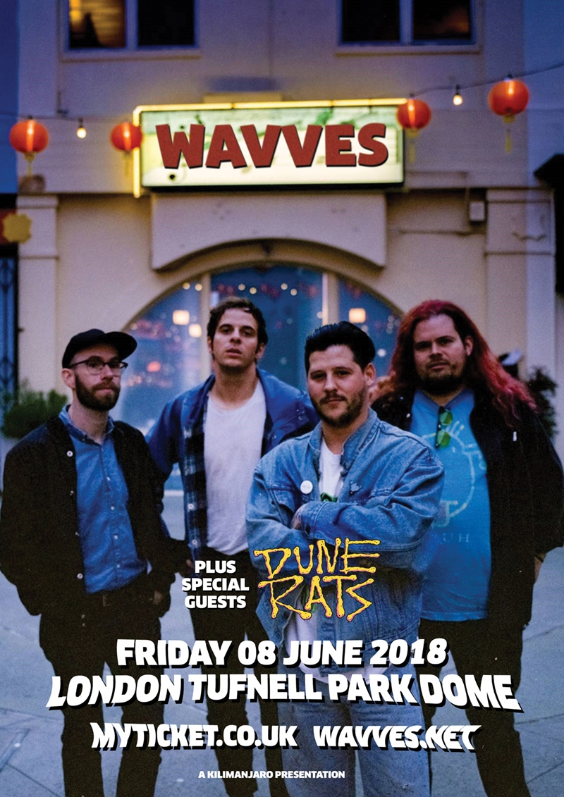 Wavves UK London 2018 show