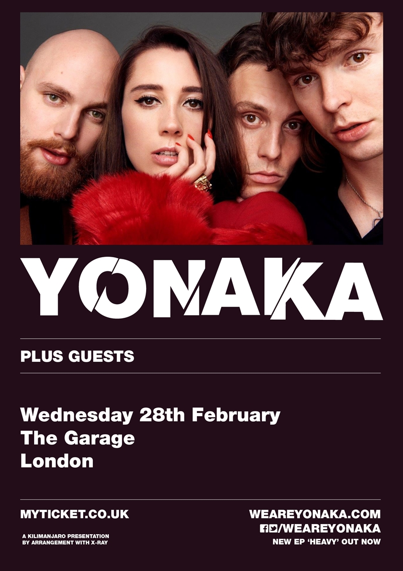 Yonaka 2018 UK headline London show