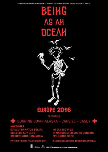Being As An Ocean 2016 tour