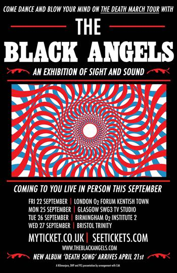 The Black Angels tour