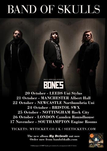 Band of Skulls UK Tour 2016