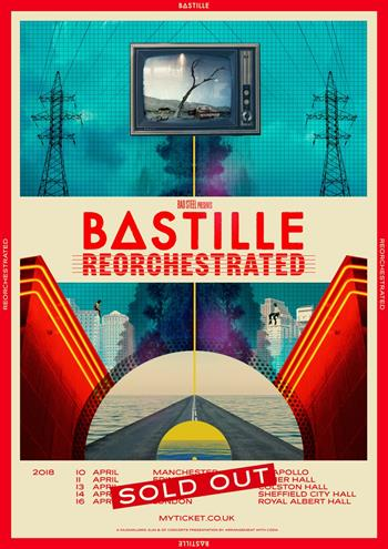 Bastille Reorchestrated UK Tour 2018