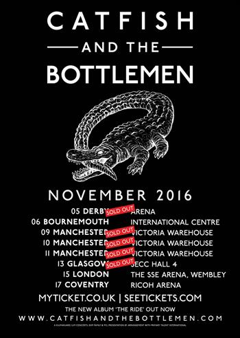 Catfish and the Bottlemen UK Tour 2016