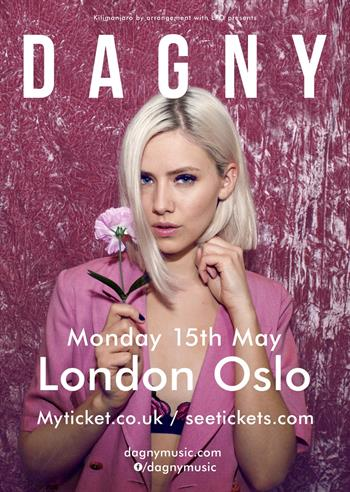 Dagny UK London 2017 show
