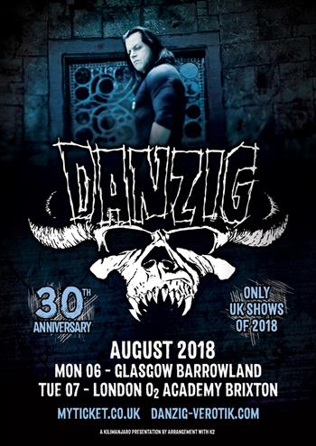 DANZIG UK Tour 2018