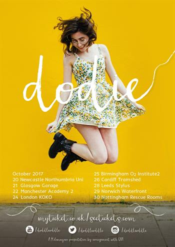 Dodie 2017 Tour artwork