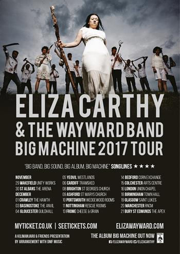 Eliza Carthy & The Wayward Band UK 2017 tour