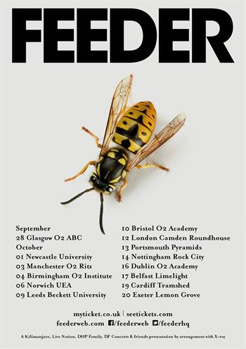 Feeder UK Tour 2016