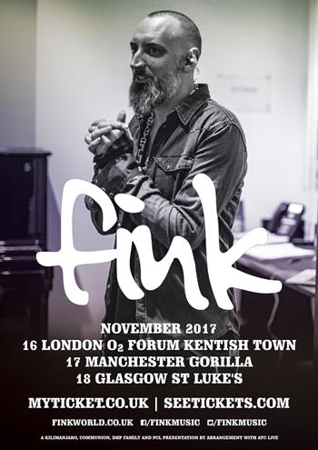 Fink UK Tour 2017