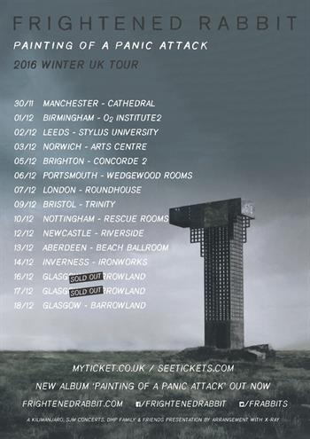 Frightened Rabbit UK Tour 2016