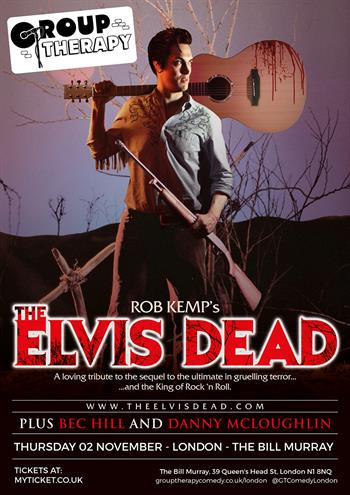 The Elvis Dead poster