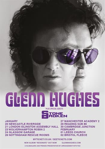 Glenn Hughes UK Tour 2017