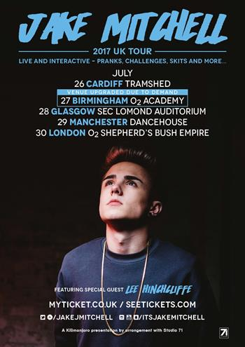 Jake Mitchell UK Tour 2017