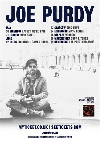 Joe Purdy UK Tour 2017