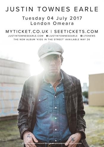 Justin Townes Earle UK London 2017 show