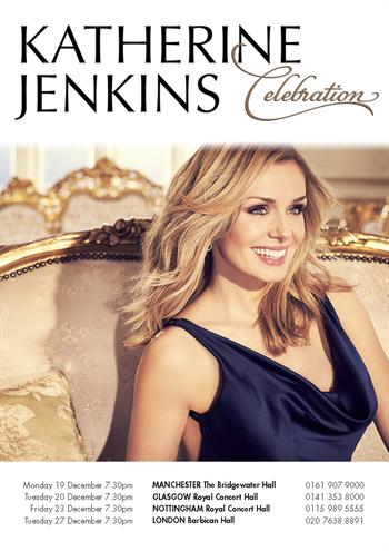 Katherine Jenkins UK Tour 2016