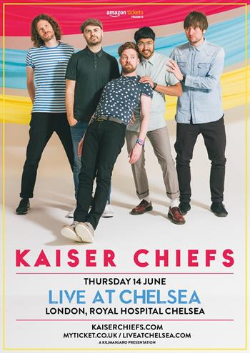 Live at Chelsea Kaiser Chiefs UK London 2018 concert series