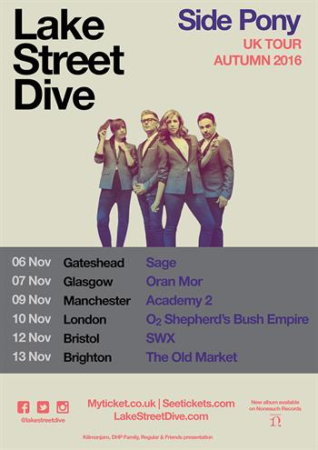 Lake Street Dive UK 2016 Tour