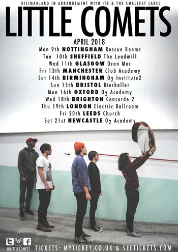 Little Comets UK Tour 2018