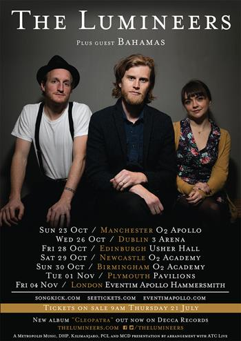 The Lumineers Full Tour 2016