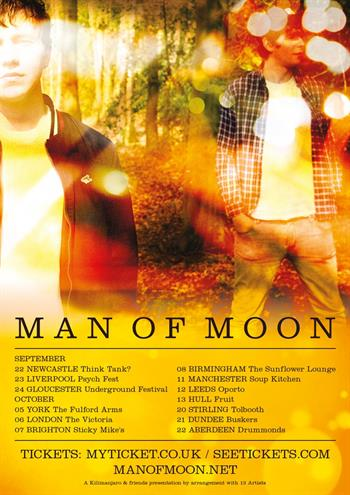 Man of Moon UK Tour 2016
